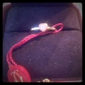 18k Gold Diamond Cartier Ring